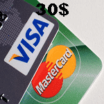 ویزا کارت مجازی 30 دلاری