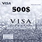 ويزا کارت 500 دلاری