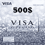 ویزا کارت 500 دلاری آمریکا | تحویل 24 ساعته