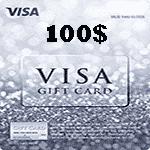 ویزا کارت 100 دلاری