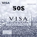 ویزا کارت 50 دلاری