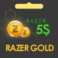 گیفت کارت 5 دلاری Razer Gold ریزر گلد گلوبال