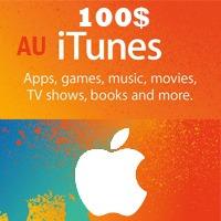 گیفت کارت 100 دلاری آیتونز استرالیا