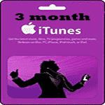 کارت 3 ماهه اپل موزیک كانادا