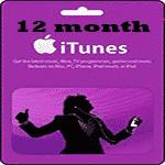 کارت 1 ساله اپل موزیک انگليس