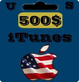 گيفت كارت 500 دلاری اپل