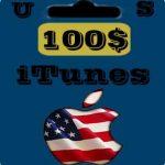 گيفت كارت 100 دلاری اپل