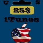 گيفت كارت 25 دلاری اپل