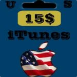 گيفت كارت 15 دلاری اپل