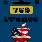 گيفت كارت 75 دلاری اپل