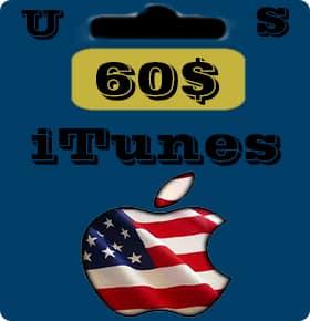 گيفت كارت 60 دلاری اپل