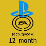 گیفت کارت یکساله EA Access پلی استیشن PS4