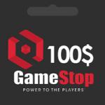 گيفت كارت 100 دلاری GameStop گیم استاپ