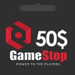 گيفت كارت 50 دلاری GameStop گیم استاپ