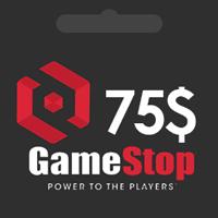 گيفت كارت 75 دلاری GameStop گیم استاپ