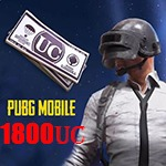 1800UC پابجی موبایل