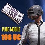 شارژ 198 یوسی پابجی موبایل