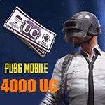 4000 یوسی پابجی موبایل