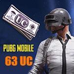 شارژ 63 یوسی پابجی موبایل