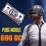 شارژ 690 یوسی پابجی موبایل