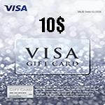 ویزا کارت 10 دلاری آمریکا