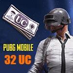 شارژ 32 یوسی پابجی موبایل