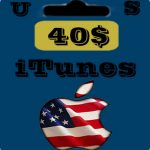 گيفت كارت 40 دلاری اپل آیتونز