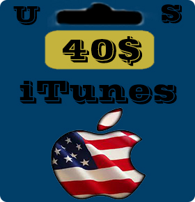 گيفت كارت 40 دلاری اپل آيتونز امريكا