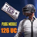 شارژ 126 یوسی پابجی موبایل